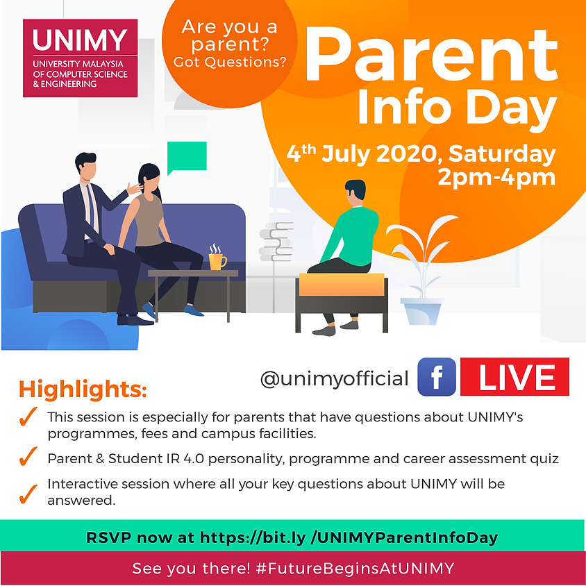 Parent Info Day  (July)