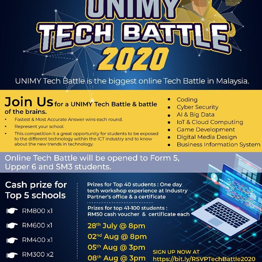 UNIMY Tech Battle 2020