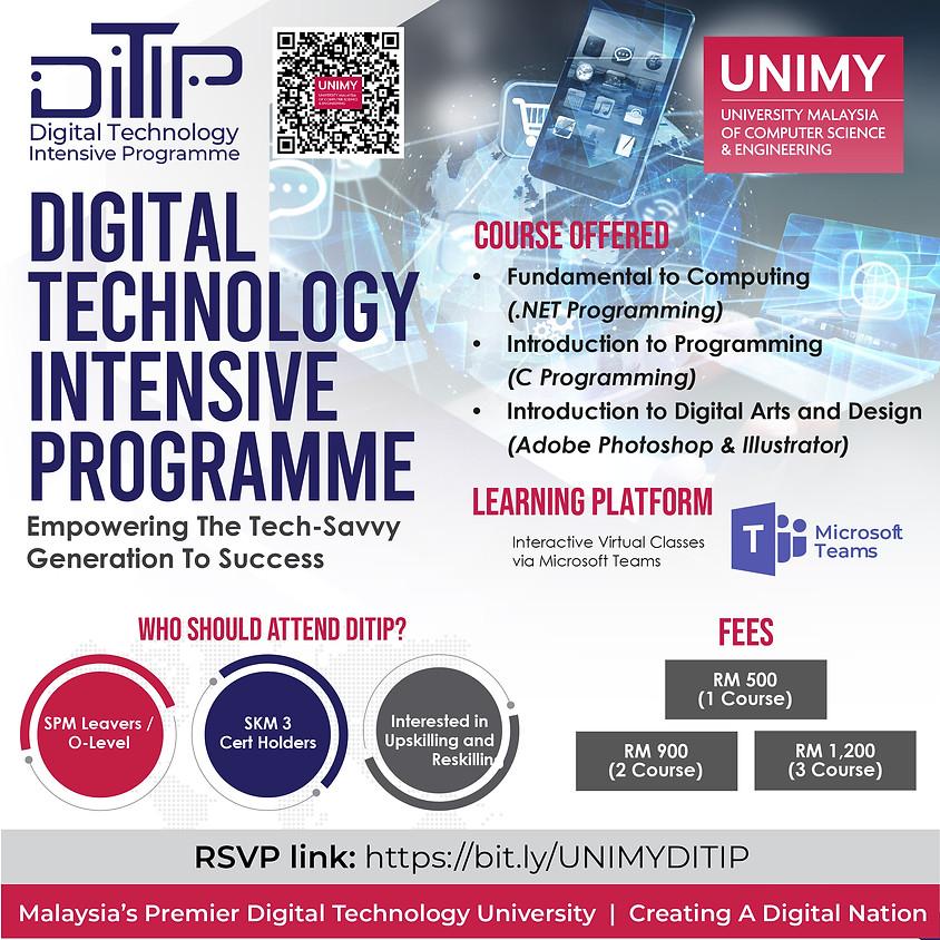 Digital Technology Intensive Programme