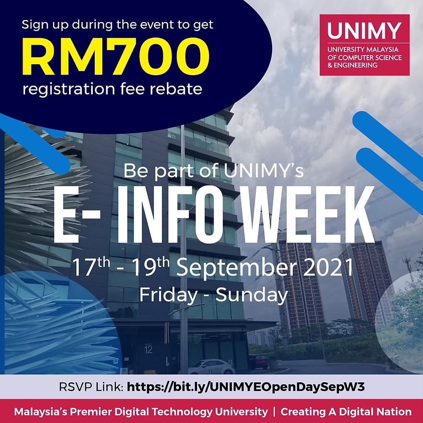 E-Info Week 17 - 19 September 2021