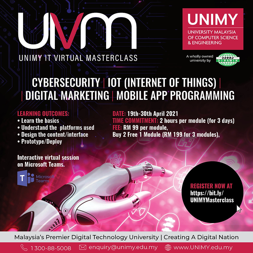 UNIMY IT Virtual Masterclass