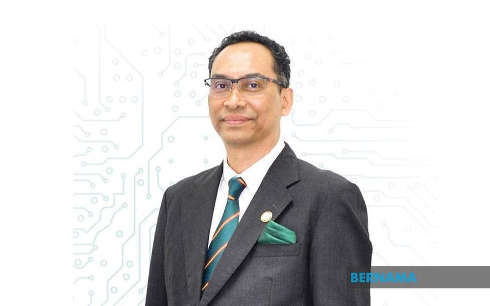 Senior vice president (cybersecurity), Assoc Prof Col (R) Datuk Ts Dr Husin Jazri