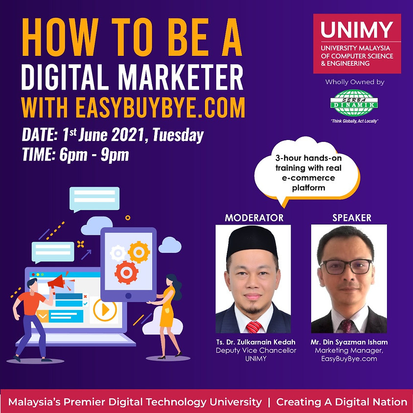How to be a Digital Marketer with EASYBUYBYE.COM