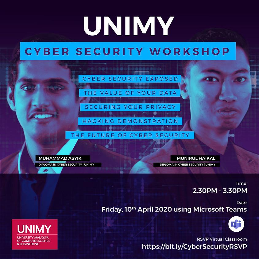 Virtual Classroom: UNIMY Cyber Security Workshop