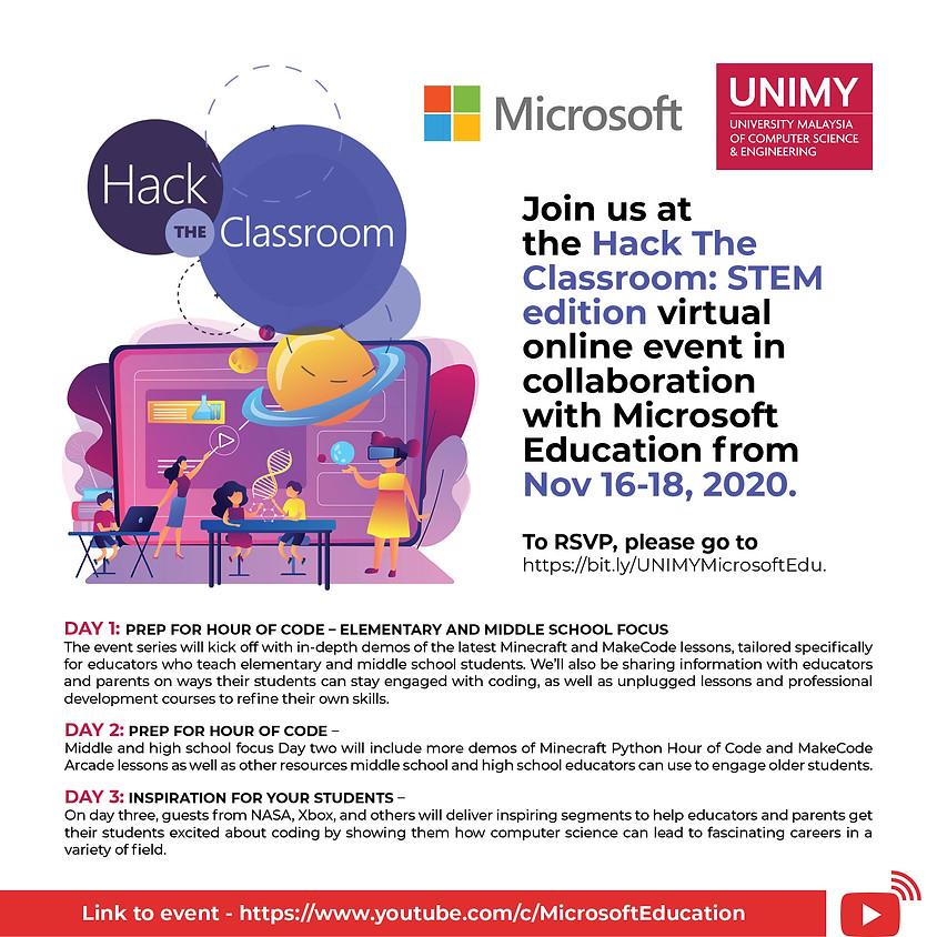 Hack the Classroom: STEM Edition