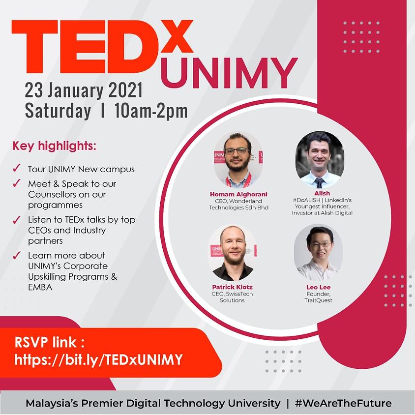 TED x UNIMY  23 January