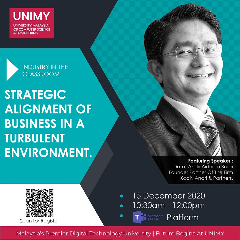 Strategic Alignment Of Business In A Turbulent Environment