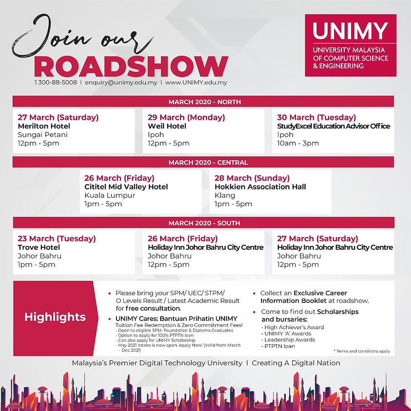 UNIMY Road Show