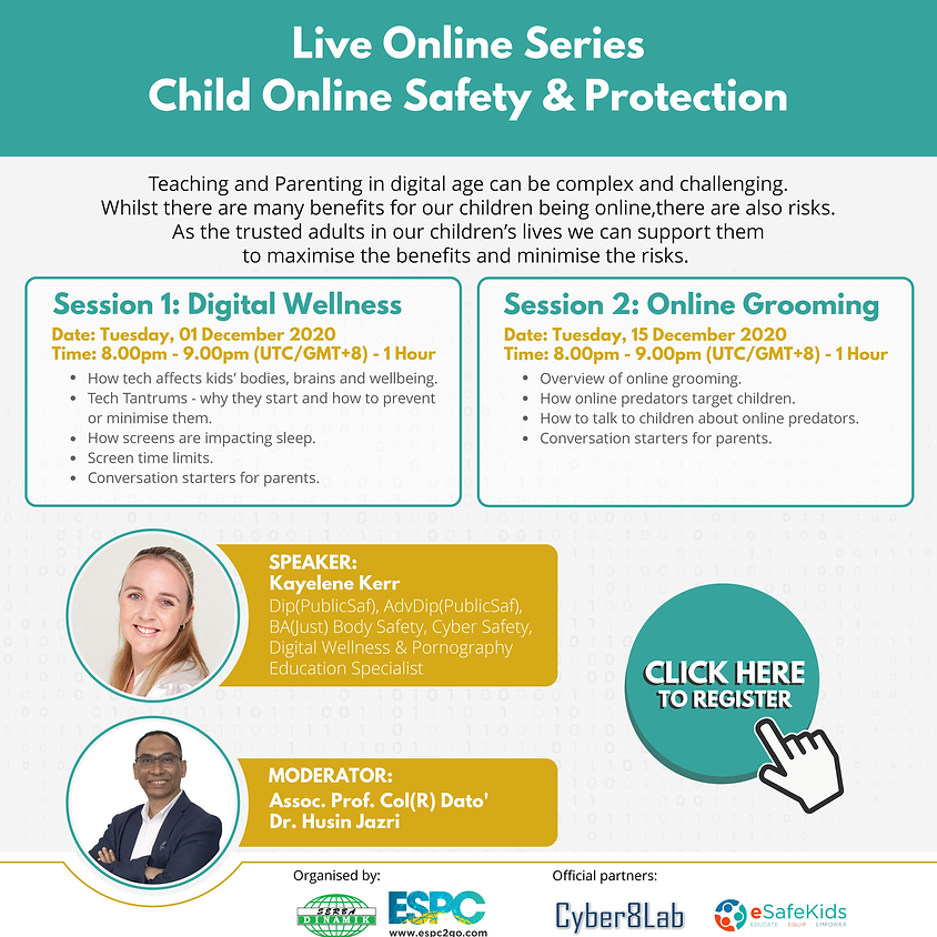 Live Online Series: Child Online Safety & Protection