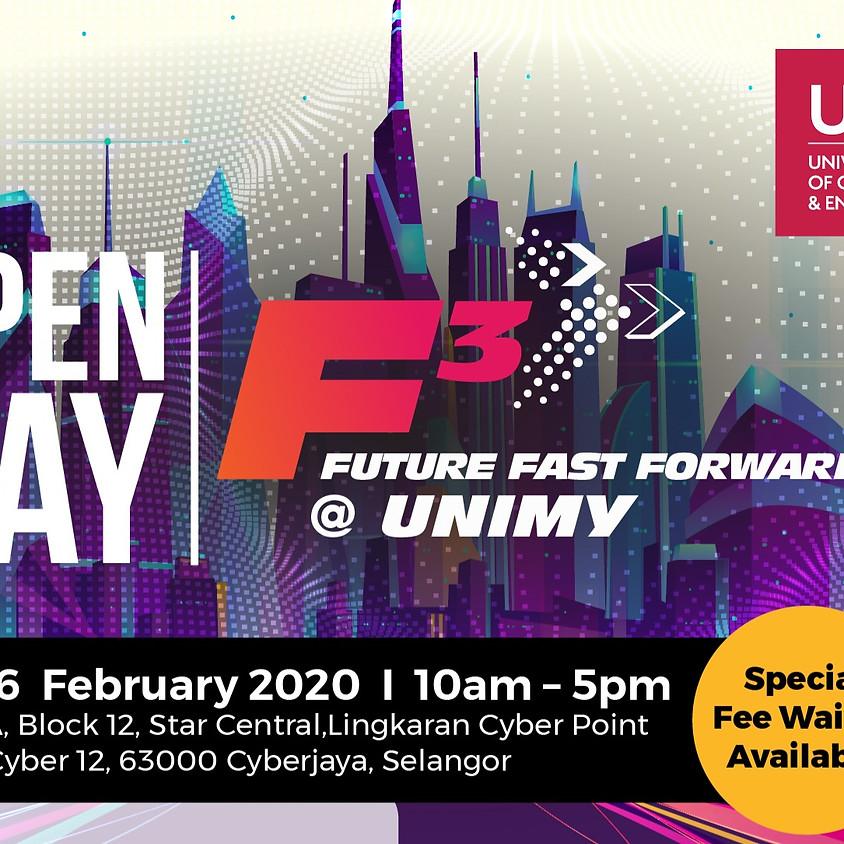 15-16 Feb Open Day
