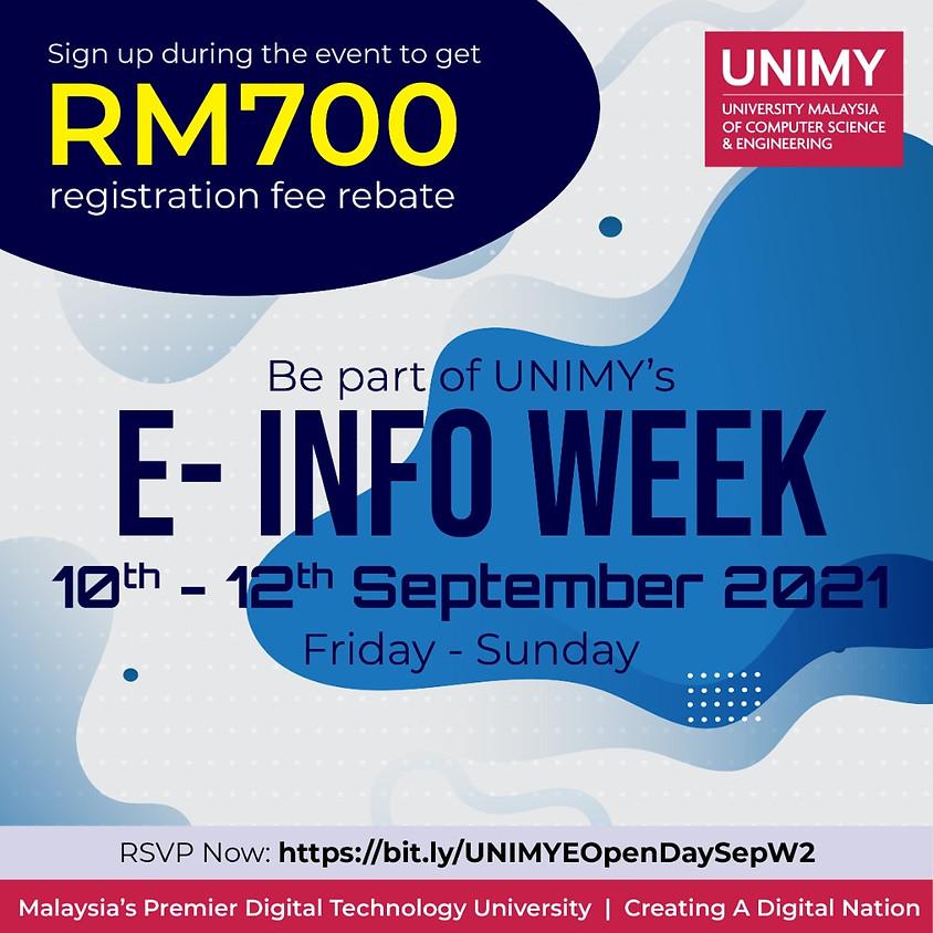 E-Info Week 10 - 12 September 2021