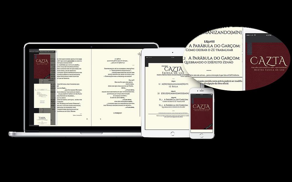 O Pocket CAZTA terä verzäo para todoz oz leitorez.