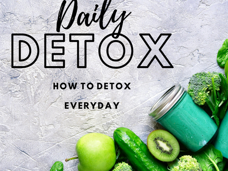 9 detox strategies to incorporate into your daily life.