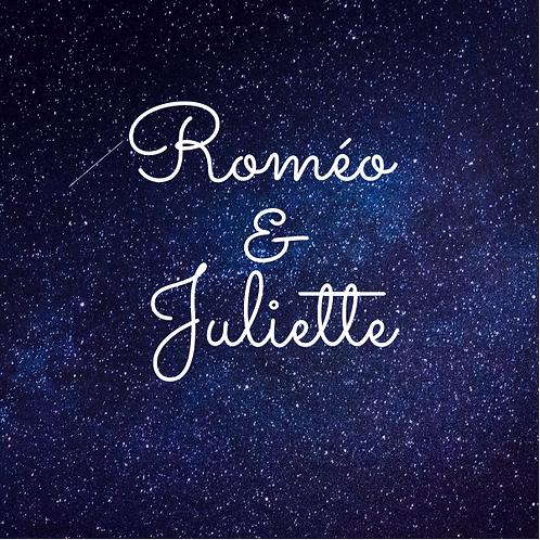 Bougie parfumée - Roméo & Juliette