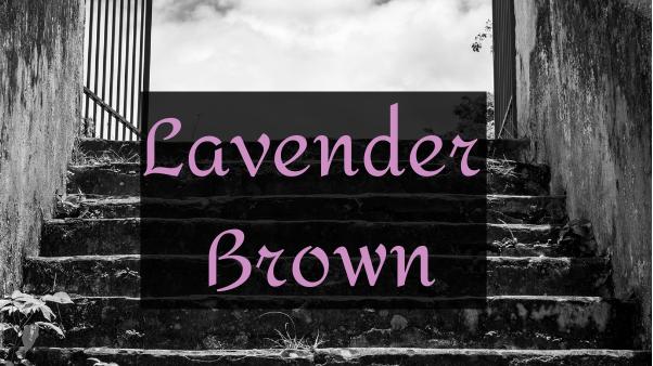 Bougie parfumée - Lavender Brown