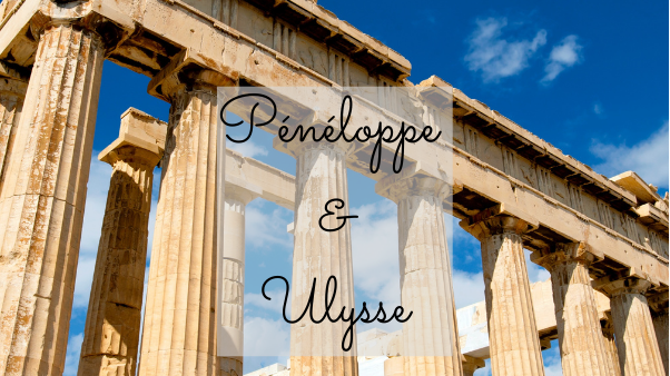 Bougie parfumée -Pénélope & Ulysse