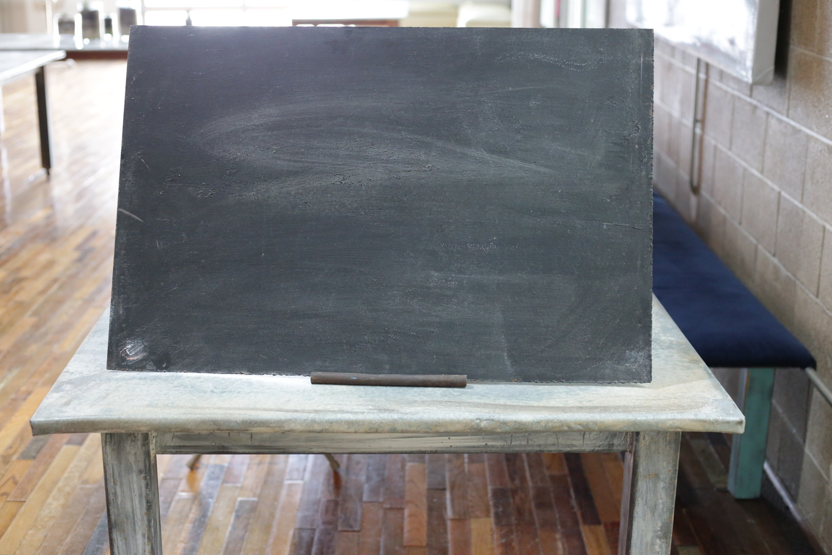 Table Top Steel Chalk Board