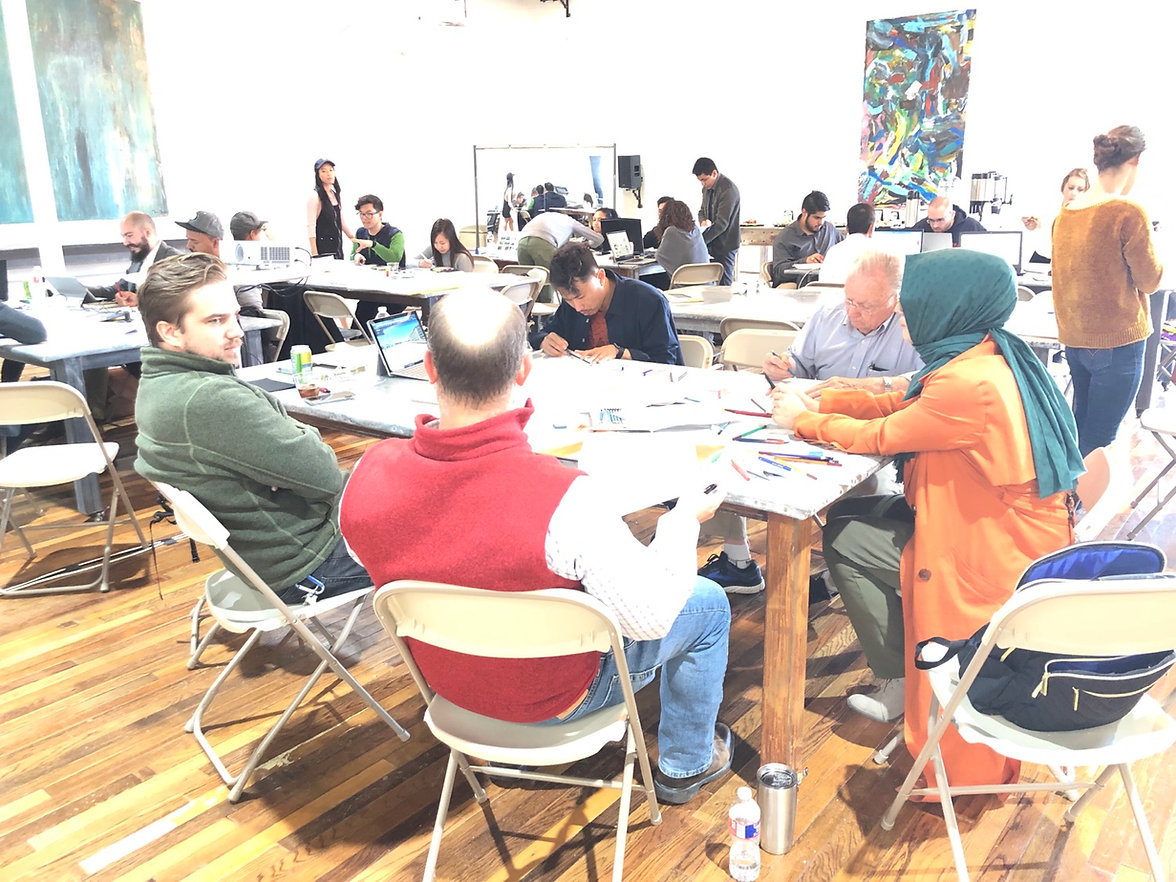 Team Building Workshops Venue Rental PopUp
