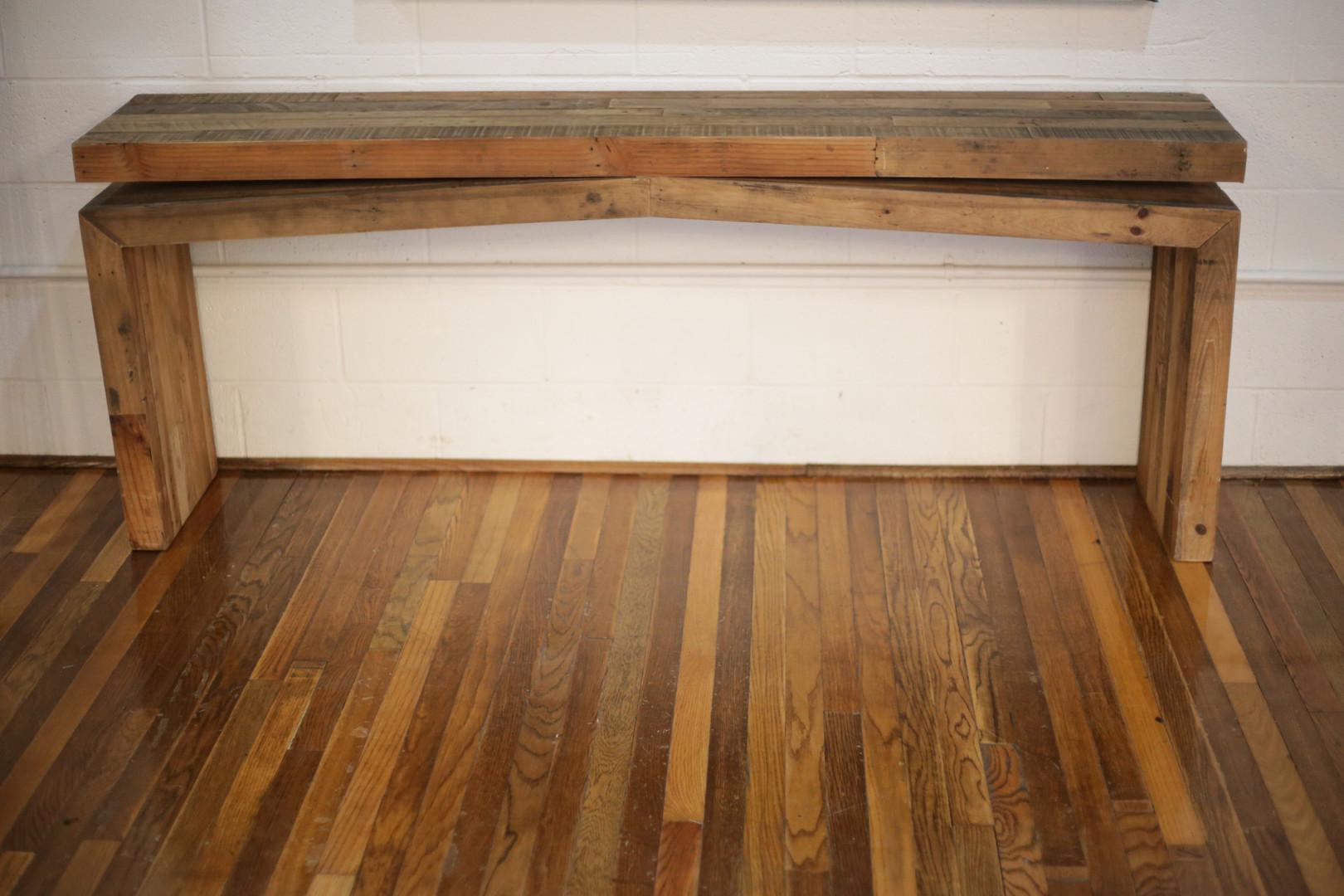 Skinny Reclaimed Wood Table