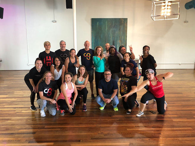 Private Group Dance Class, Team Building Events, Work Social, Luncheon, Corporate Team Building, Dance Classes, Hip-Hop for work, Mimosas, BYOB, Team Building Activites in Houston, Heights, Work Out, Date Night, Girls Night Out,