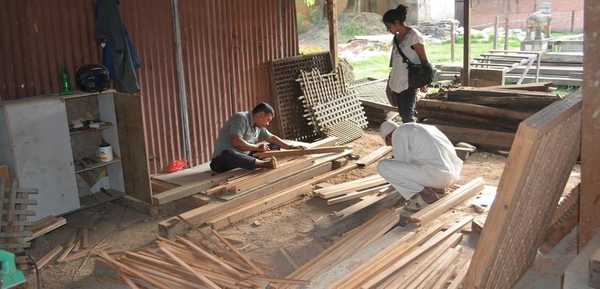 wood restoration workshop