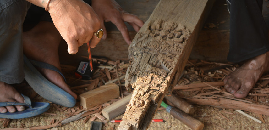 restoring artifacts destroyed in earthquake