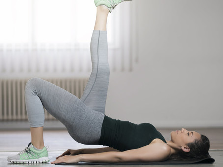 the good burn in the comfort of you own home! - an off ice at home workout :)