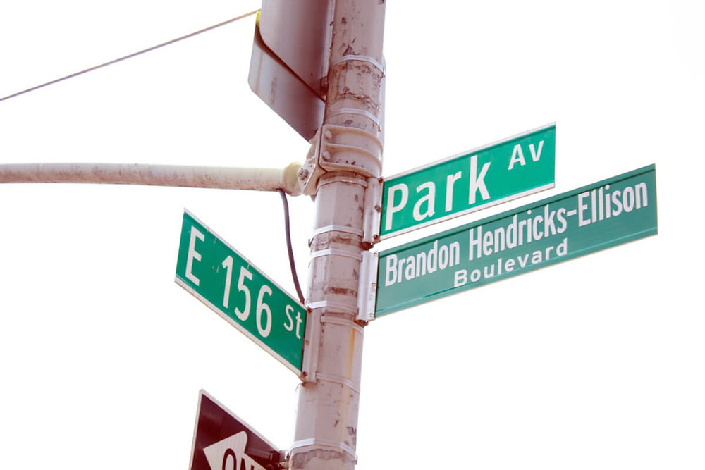 July 7 was the day that the late Brandon Hendricks had a street renamed after himself.