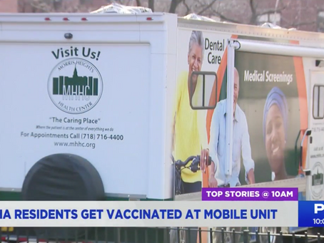 PIX 11: Bronx Rising Initiative Is Working to Vaccinate Seniors in The Bronx