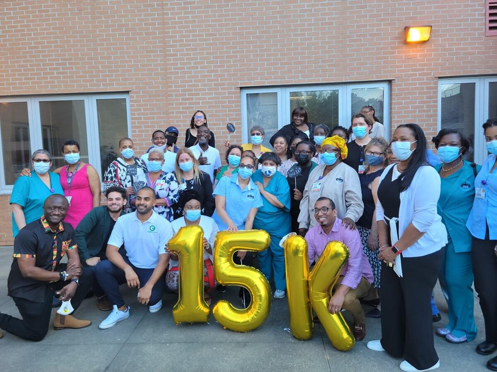 15K vaccinated by Bronx Rising Initiative with the help of Morris Height Health Center's clinic