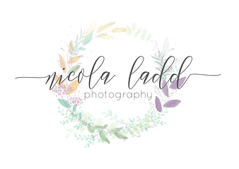 Nicola Ladd Logo photography weddin family portrait