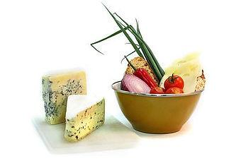 Fromage bleu avec Veggies