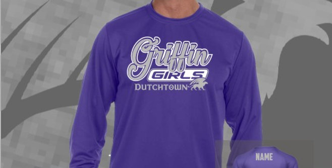 Griffin Girl Longsleeve Dry-Fit T-Shirt