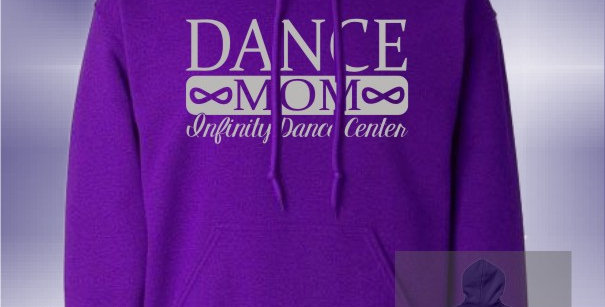Infinity Dance Vinyl Hoodie