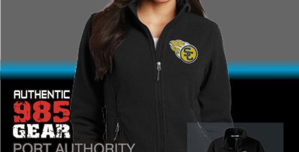 SCC Ladies Black Fleece Jacket
