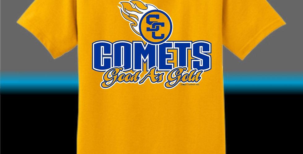 "SCC Comets ""Good As Gold"" T-Shirt"