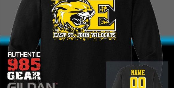 "ESJ ""It's All About The E"" Black Longsleeve T-Shirt"