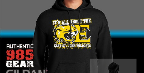 "ESJ ""It's All About The E"" Cotton Hoodie"