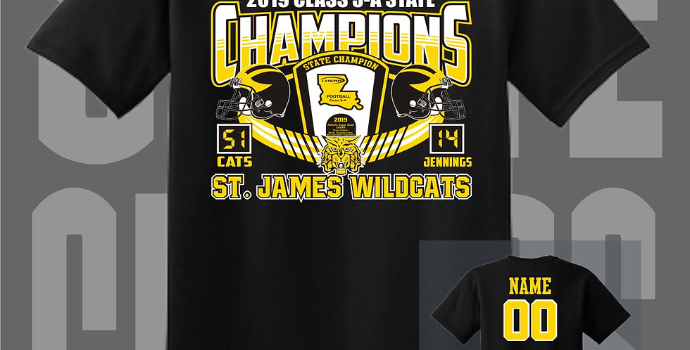 St. James Championship T-Shirts