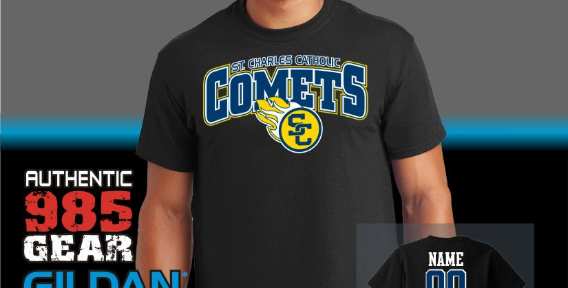 SCC Black T-Shirts