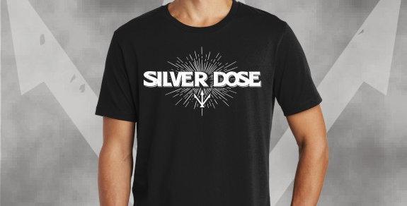Silver Dose Cotton T-Shirt