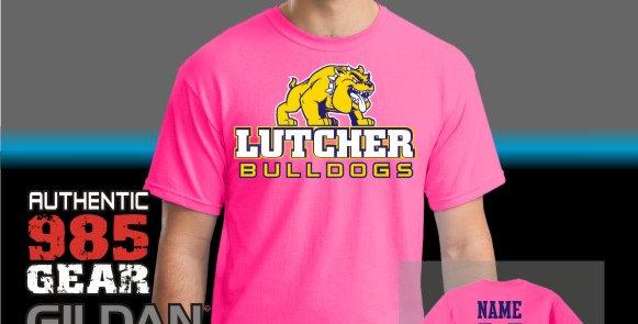 Lutcher Pink T-Shirt