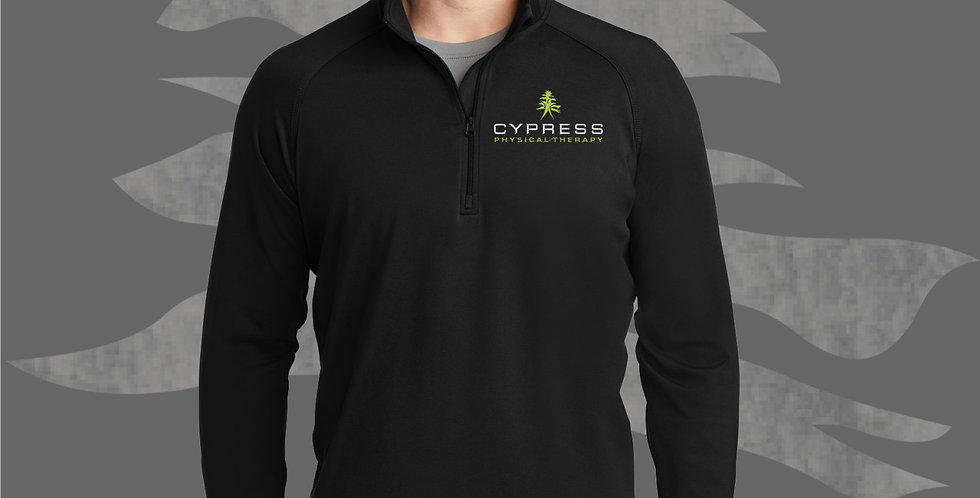 Cypress Physical Therapy1/2 Zip Pullover