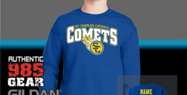 SCC Comets Royal Crewneck Sweatshirt