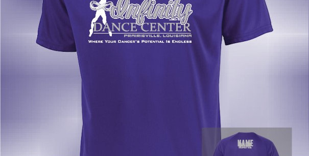 Infinity Dancer Dry Fit T-Shirt
