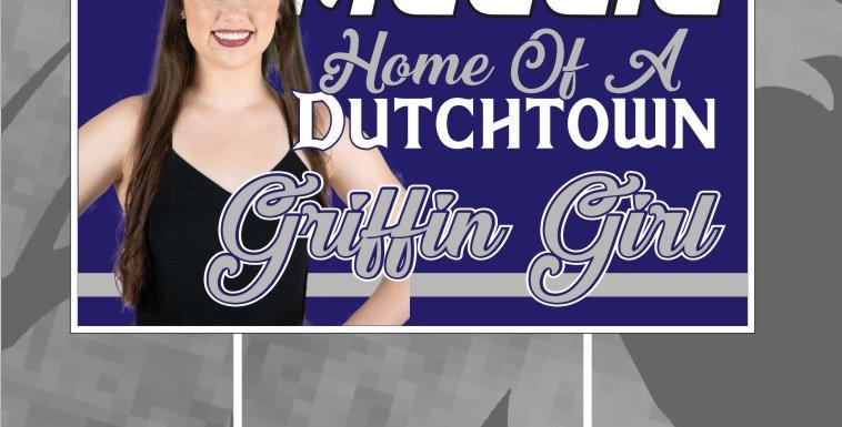Griffin Girls Yard Sign