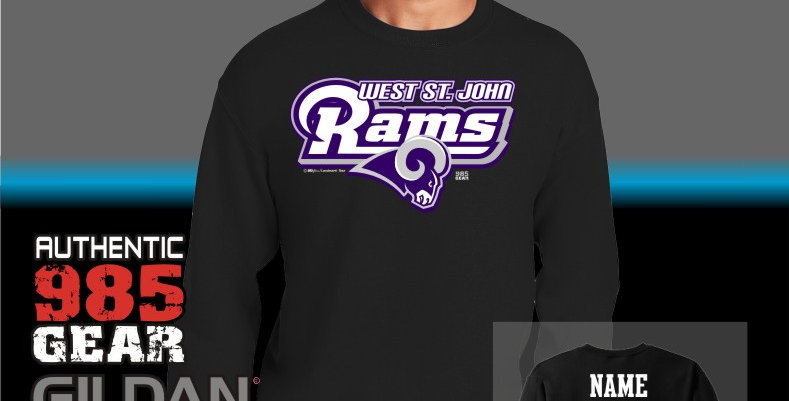 "WSJ ""STL"" Black Crewneck Sweatshirt"