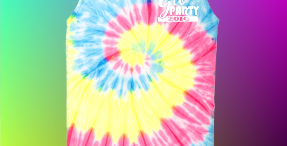 Glo Party Tie Dyed Tank