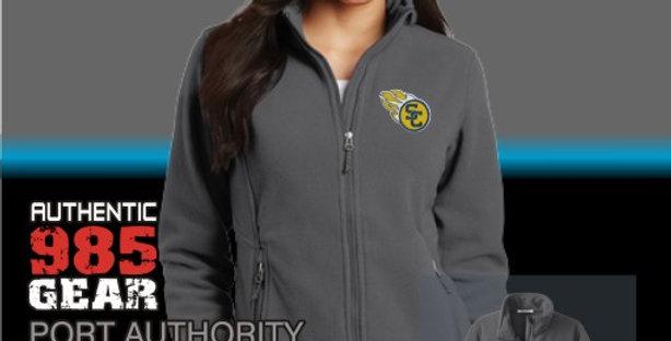 SCC Ladies Iron Grey Fleece Jackets