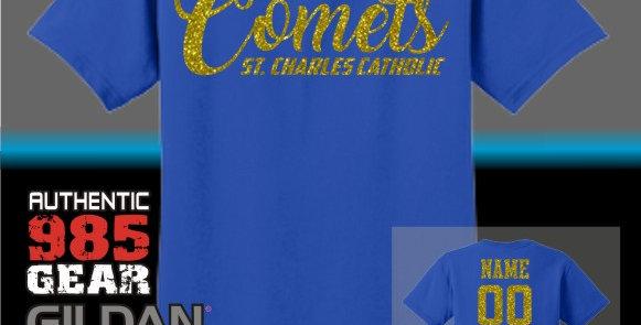 SCC Comets Glitter T-Shirt